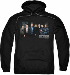 Law & Order SVU pull-over hoodie Cast adult black