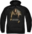 Law & Order SVU pull-over hoodie Helping Victims adult black