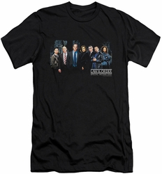 Law & Order Svu slim-fit t-shirt Cast mens black