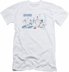 Law & Order Svu slim-fit t-shirt Dominos mens white