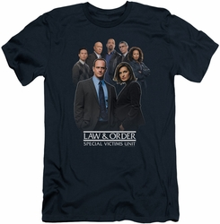 Law & Order Svu slim-fit t-shirt Team mens navy