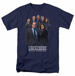 Law & Order SVU t-shirt Team mens navy