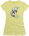 Leave It To Beaver juniors t-shirt Wholesome Family banana
