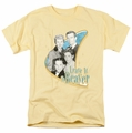 Leave It To Beaver t-shirt Wholesome Family mens banana