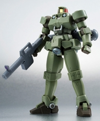 Leo moss green Space Type action figure Gundam Wing
