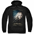 Les Miserables pull-over hoodie Cosette adult black