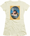 Little Drummer Boy juniors t-shirt Fancy Border cream