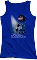 Little Drummer Boy juniors tank top White Light royal