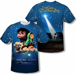 Little Drummer Boy mens full sublimation t-shirt Look To The Stars