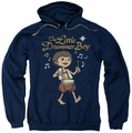 Little Drummer Boy pull-over hoodie Starlight adult navy