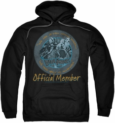 Little Rascals pull-over hoodie He Man Woman Haters adult black