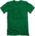 Little Rascals slim-fit t-shirt The Gang mens kelly green
