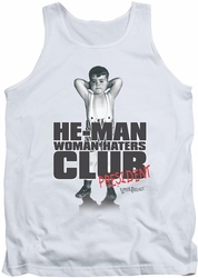 Little Rascals tank top Club President mens white