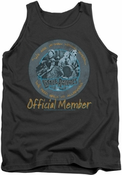 Little Rascals tank top He Man Woman Haters mens charcoal