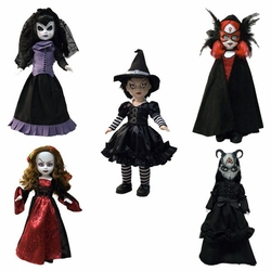 Living Dead Dolls Series 26 Set of 5 Season of the Witch