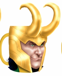 Loki Molded Coffee Mug