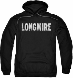 Longmire pull-over hoodie Logo adult black