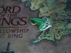 Lord of the Rings ELVEN Brooch costume accessory