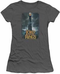 Lord of the Rings juniors t-shirt Always Watching charcoal