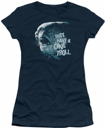 Lord of the Rings juniors t-shirt Cave Troll navy