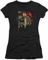 Lord of the Rings juniors t-shirt Frodo black