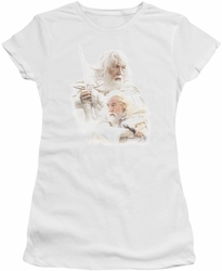Lord of the Rings juniors t-shirt Gandalf The White white