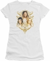 Lord of the Rings juniors t-shirt Women Of Middle Earth white