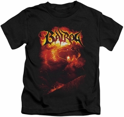 Lord of the Rings kids t-shirt Balrog black