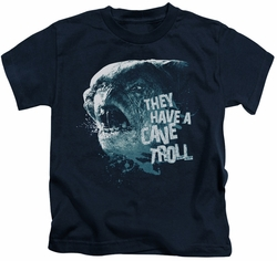 Lord of the Rings kids t-shirt Cave Troll navy