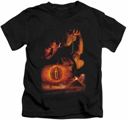 Lord of the Rings kids t-shirt Destroy The Ring black