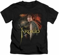 Lord of the Rings kids t-shirt Frodo black