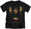 Lord of the Rings kids t-shirt Frodo One Ring black