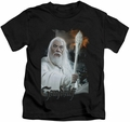 Lord of the Rings kids t-shirt Gandalf black