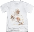 Lord of the Rings kids t-shirt Gandalf The White white