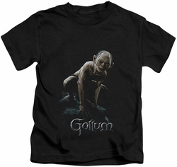 Lord of the Rings kids t-shirt Gollum black