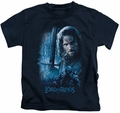 Lord of the Rings kids t-shirt King In The Making navy