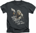 Lord of the Rings kids t-shirt Pretty Face charcoal