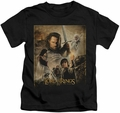 Lord of the Rings kids t-shirt ROTK Poster black