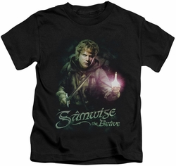 Lord of the Rings kids t-shirt Samwise The Brave black