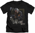 Lord of the Rings kids t-shirt The Best Dwarf black