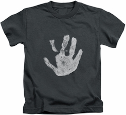 Lord of the Rings kids t-shirt White Hand charcoal