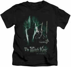 Lord of the Rings kids t-shirt Witch King black
