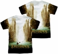Lord of the Rings mens full sublimation t-shirt Fellowship Poster