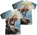 Lord of the Rings mens full sublimation t-shirt Gollum Moon