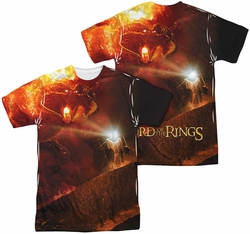 Lord of the Rings mens full sublimation t-shirt No Passing