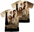 Lord of the Rings mens full sublimation t-shirt Towers Poster