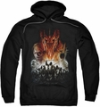 Lord Of The Rings pull-over hoodie Evil Rising adult black