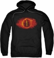 Lord Of The Rings pull-over hoodie Eye Of Sauron adult black