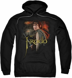 Lord Of The Rings pull-over hoodie Frodo adult black