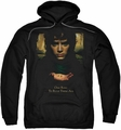 Lord Of The Rings pull-over hoodie Frodo One Ring adult black